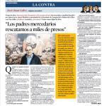 Entrevista-La Vanguardia-Fundación Obra Mercedaria